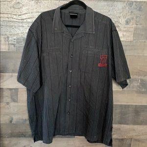 Nice Pin Striped Harley-Davidson Button Down Shirt